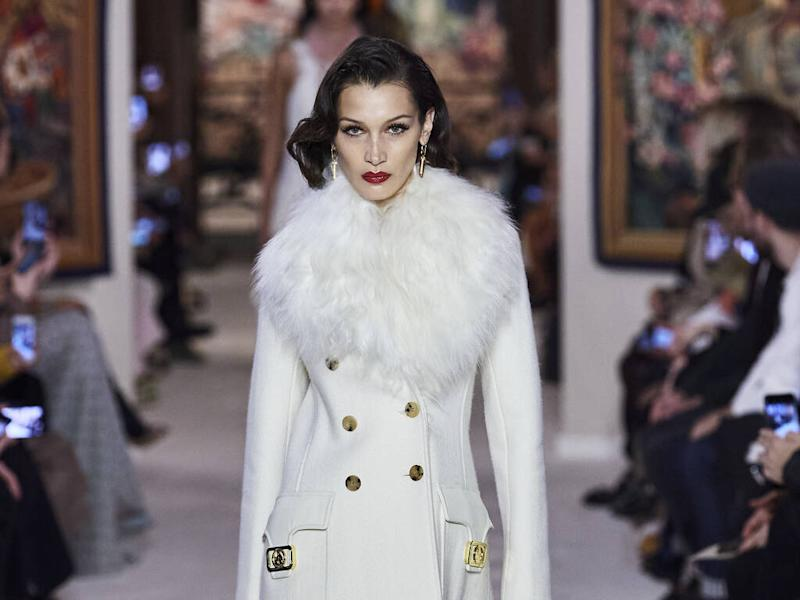 Lanvin channels retro glamour for fall 20 collection