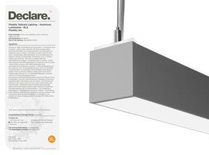"""The HPX High Performance 2.5"""" Aperture LED luminaire is third-party verified and Red List Approved"""