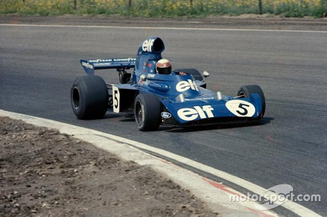 """Jackie Stewart, Tyrrell 006 Ford, 1973 <span class=""""copyright"""">Ercole Colombo</span>"""