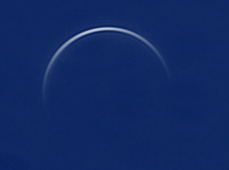 Venus at inferior conjunction on August 15, 2015 - Credit: pete lawrence