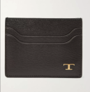 """<p><strong>TOD'S</strong></p><p>mrporter.com</p><p><strong>$245.00</strong></p><p><a href=""""https://go.skimresources.com?id=74968X1525079&xs=1&url=https%3A%2F%2Fwww.mrporter.com%2Fen-us%2Fmens%2Fproduct%2Ftods%2Faccessories%2Fcardholders%2Ftextured-leather-cardholder%2F24092600056620274"""" rel=""""nofollow noopener"""" target=""""_blank"""" data-ylk=""""slk:Shop Now"""" class=""""link rapid-noclick-resp"""">Shop Now</a></p><p>Keep him organized with TOD's well-sized cardholder. Fit with multiple compartments, it's crafted from pebbled leather for a textured feel he can rely on daily. </p>"""