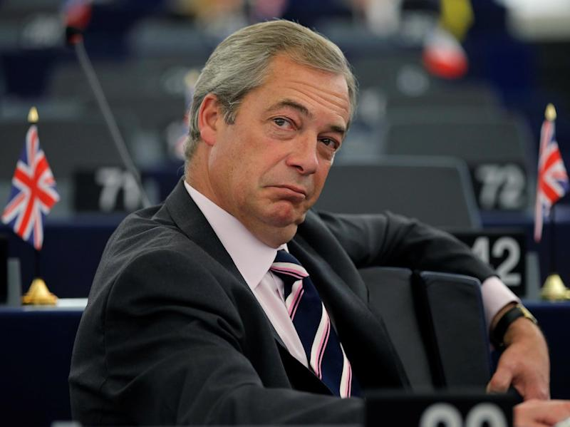 Leader of UKIP received vote of no confidence