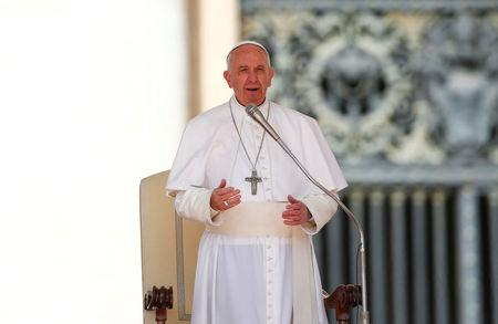 'Mother' should not be used to describe a bomb, Pope says