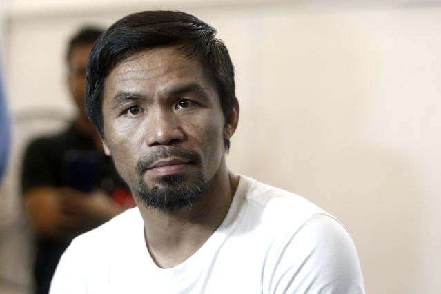 Manny Pacquiao doesn't attract the audience he once used to, but the livestream of his fight against Lucas Matthysse on Saturday could surprise in viewership if it gets competitive. (AP Photo/Yam G-Jun)
