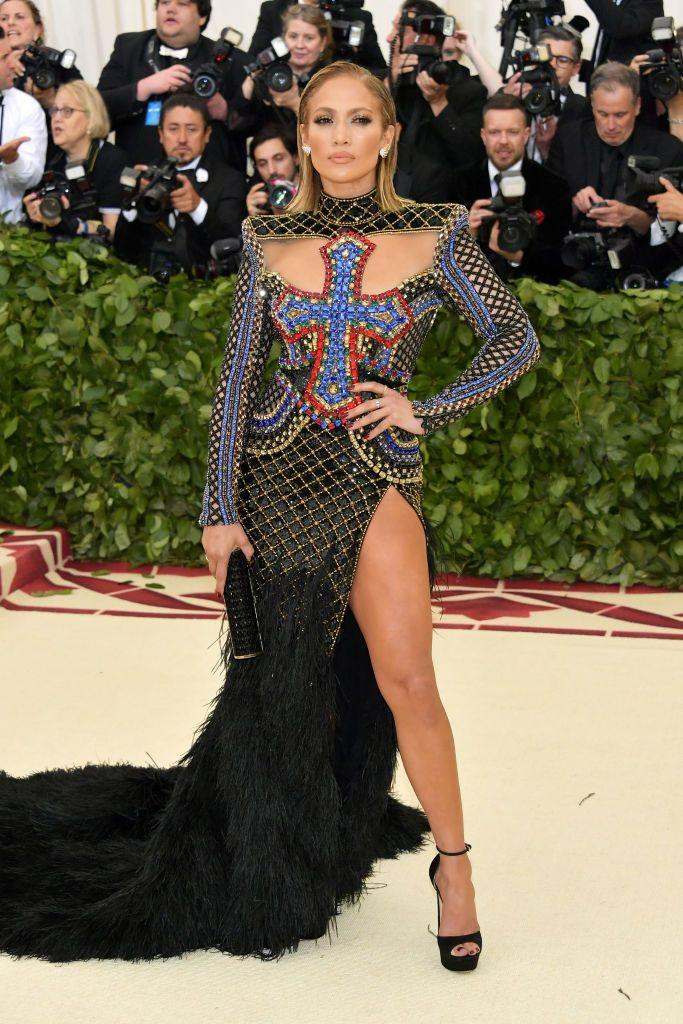 <p><strong>When: </strong>May 2018</p><p><strong>Where:</strong> The Met Gala</p><p><strong>Wearing: </strong>Balmain</p>