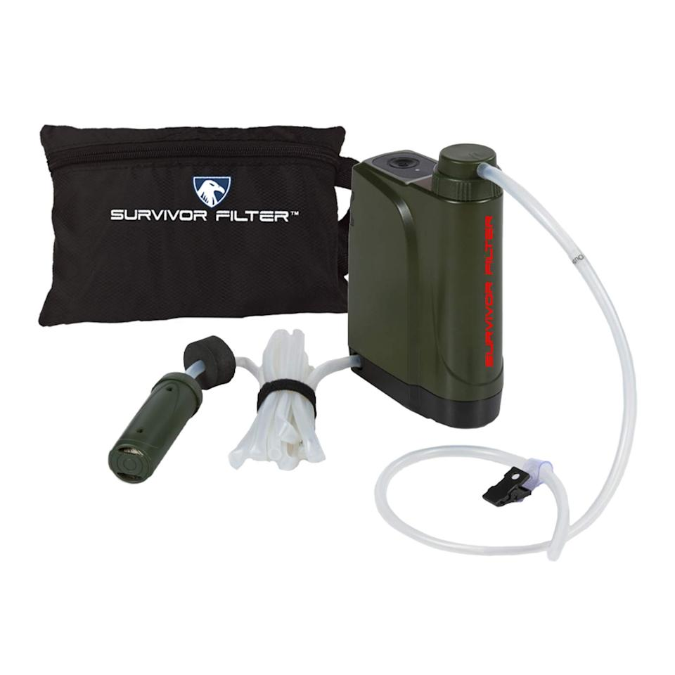 Survivor Filter Pro X - Electric Camping Water Filter (Photo: Amazon)