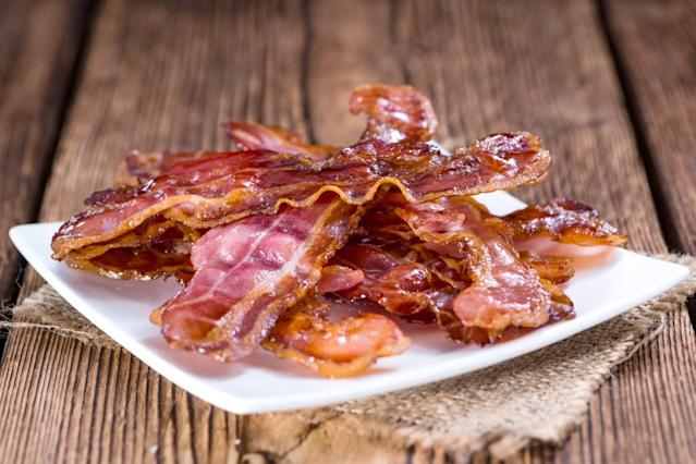 A boywith autism who loves bacon got his favorite food at a family wedding. (Photo: Getty Images)