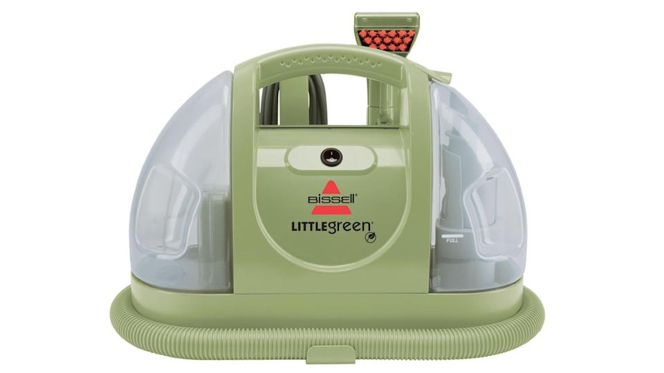 BISSELL 1400J Little Green Portable Carpet & Upholstery Cleaner - Walmart, $88