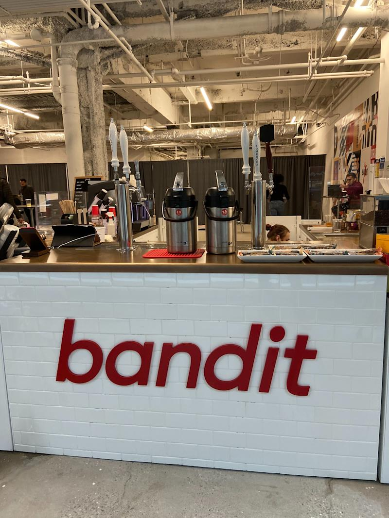 Bandit's coffee counter at 466 Lexington Avenue in New York City. (Photo: Daniel Roberts/Yahoo Finance)