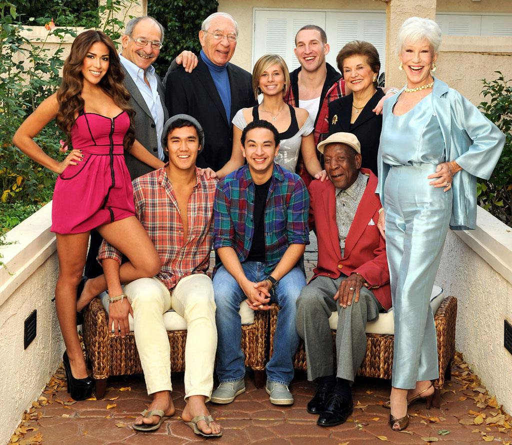 "The cast of ""Forever Young,"" a new unscripted TV Land series premiering Wednesday, April 3 at 10pm ET/PT with two back-to-back episodes. Standing, from left: Andree Martinez, Lou Cordileone, Arthur Albert, Angelina Mazzone, Mike Markiewicz, Emileen Hanna and Shirley Claire Seated, from left: Sam McLaughlin, Christian Taboada and Eugene Palmer"