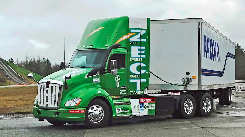 PACCAR electric truck