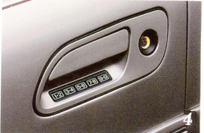 Keypad on 1991 Lincoln Continental