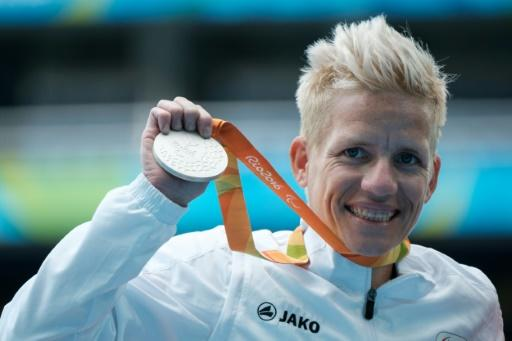 Belgium's Marieke Vervoort won four Paralympic medals -- one gold, two silver and a bronze -- across the 2012 and 2016 Games