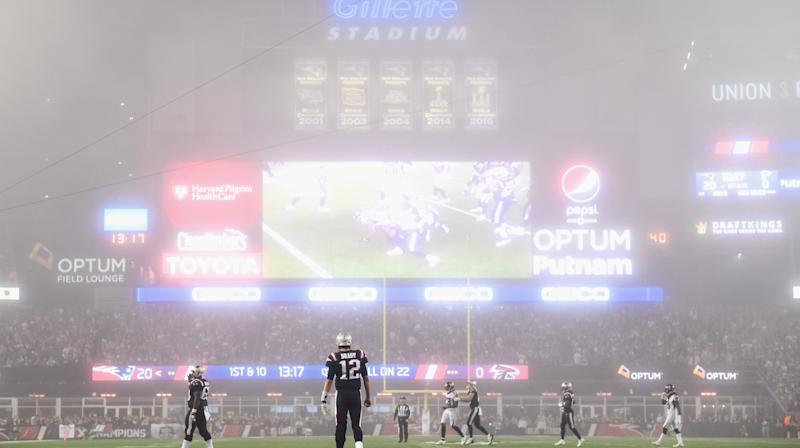 'Sunday Night Football' Looked Like A Halloween Horror Movie