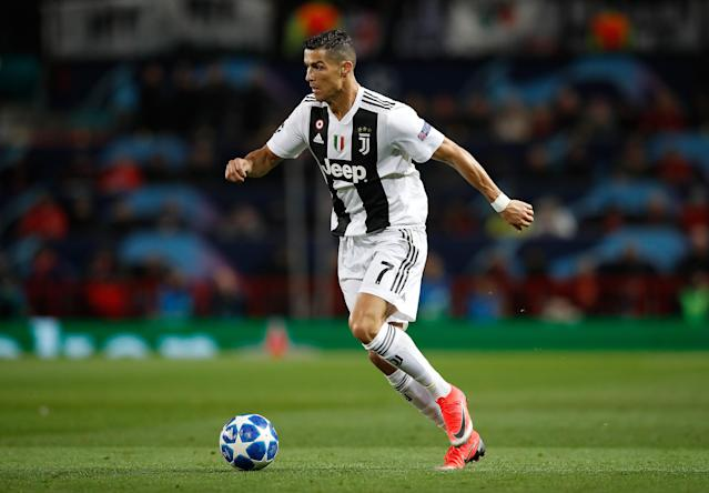 Cristiano Ronaldo was influential in a dominant Juventus display and had a big hand in the first goal