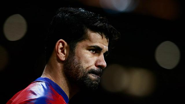 Atletico Madrid have confirmed Diego Costa has entered the next stage of his rehabilitation from foot surgery.