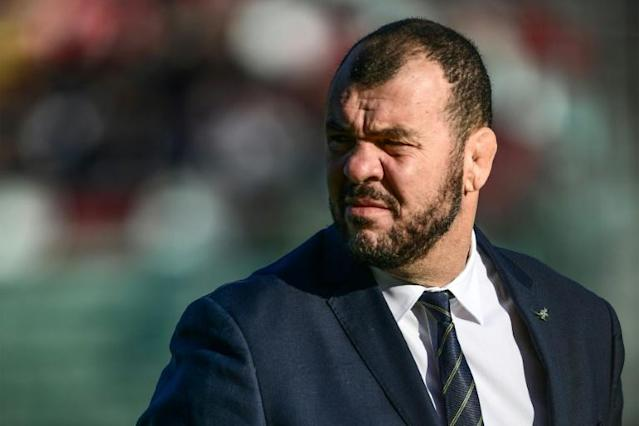 Australia's rugby union head coach Michael Cheika rings the changes for the match against South Africa (AFP Photo/Miguel MEDINA)