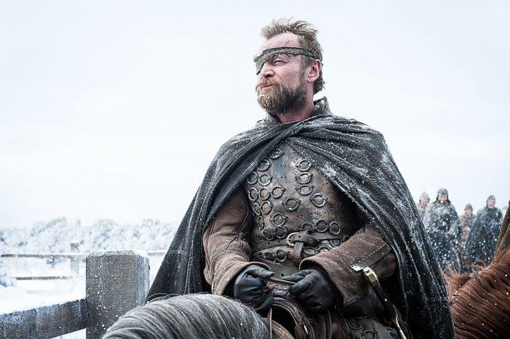 Richard Dormer as Beric Dondarrion in HBO's Game of Thrones . (Photo Credit: HBO)