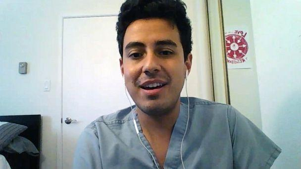 PHOTO: Francesco Sergi, a third-year medical student at the University of California, San Francisco. (ABC News)