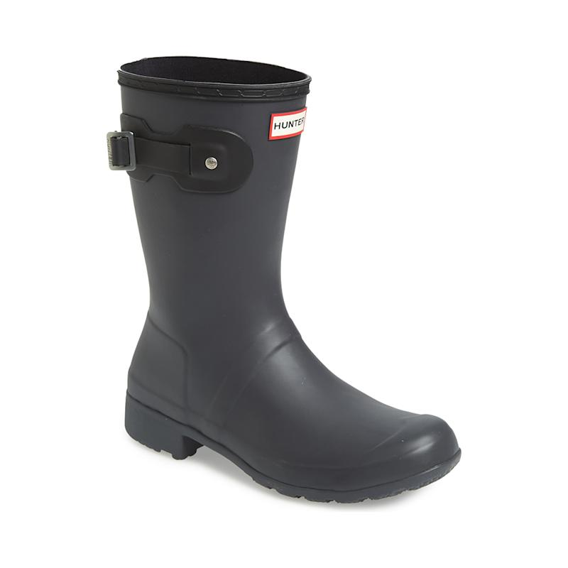 Hunter Original Tour Short Packable Rain Boots. (Photo: Nordstrom)