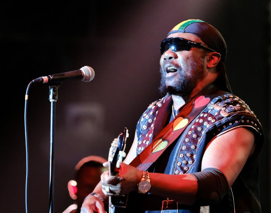 Toots and the Maytals on stage at Singapore F1. (PHOTO: Singapore GP)