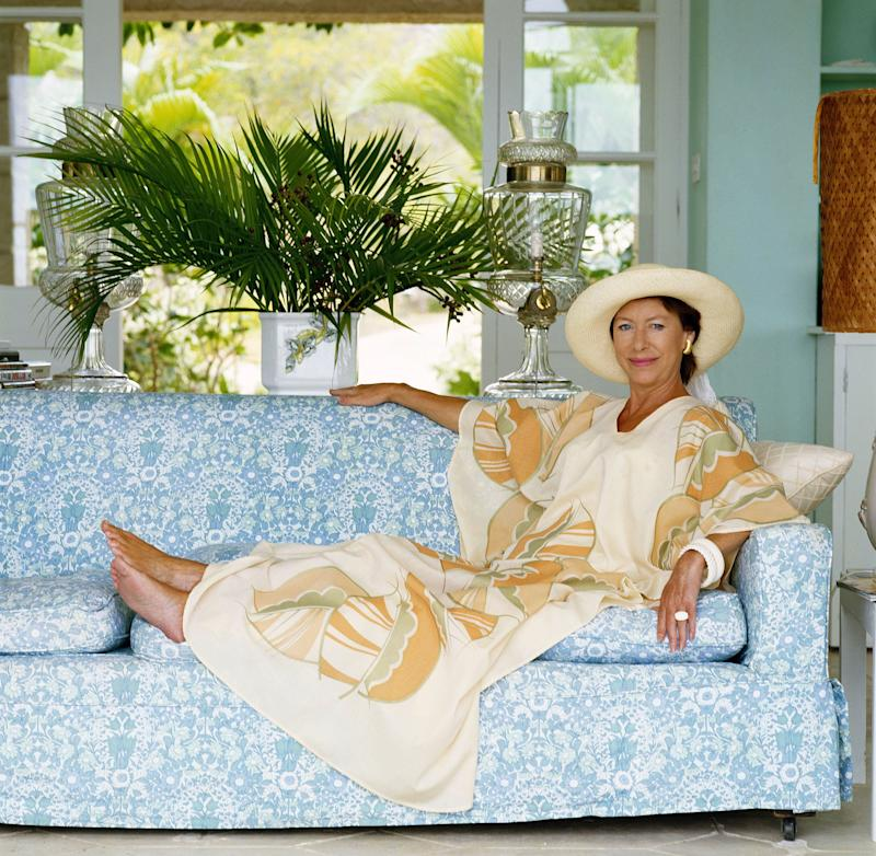 Inside Princess Margaret's Private Island Life on Mustique