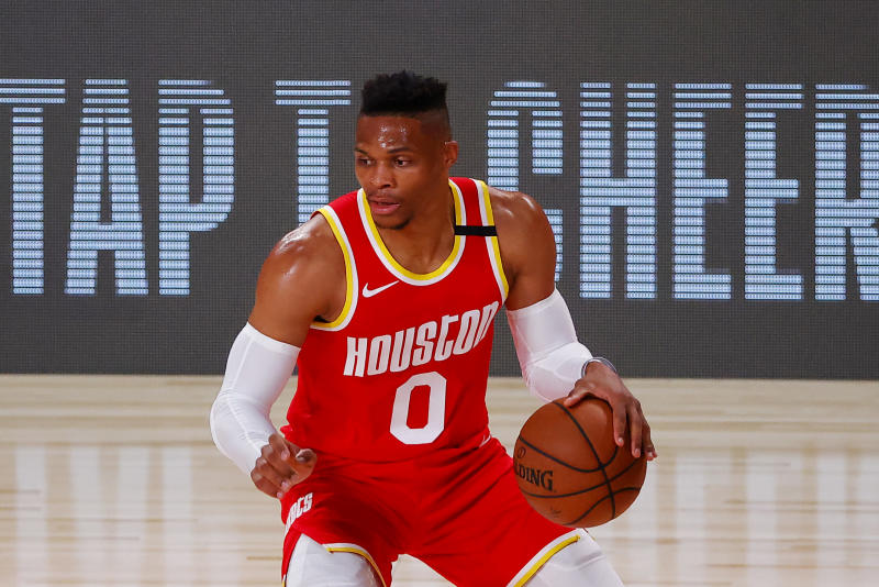 Rockets' Westbrook expected to miss at least start of playoffs
