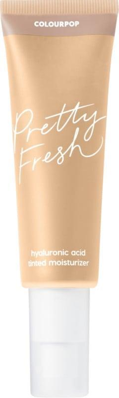 <p>If you're looking for a more affordable option, this <span>ColourPop Pretty Fresh Hyaluronic Acid Tinted Moisturizer</span> ($14) is it. It comes in 21 shades, and is oil-free but still hydrating.</p>