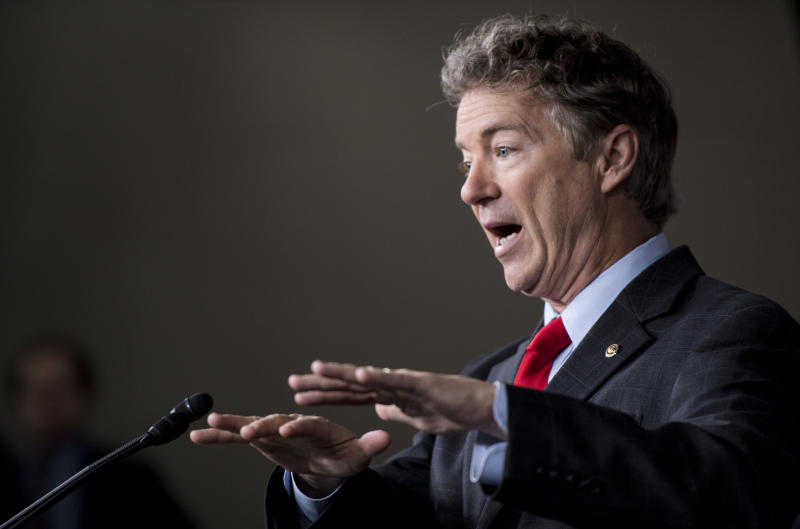 Sen. Rand Paul: Montenegro Joining NATO Is Against U.S. Interests