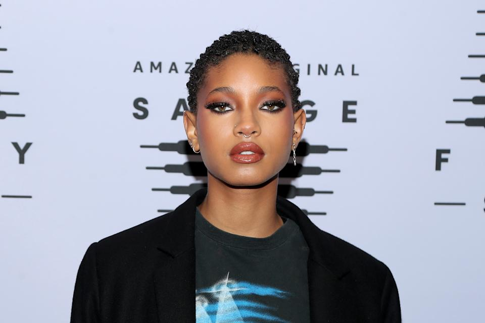 LOS ANGELES, CALIFORNIA - OCTOBER 02: In this image released on October 2, Willow Smith attends Rihanna's Savage X Fenty Show Vol. 2 presented by Amazon Prime Video at the Los Angeles Convention Center in Los Angeles, California; and broadcast on October 2, 2020. (Photo by Jerritt Clark/Getty Images for Savage X Fenty Show Vol. 2 Presented by Amazon Prime Video)