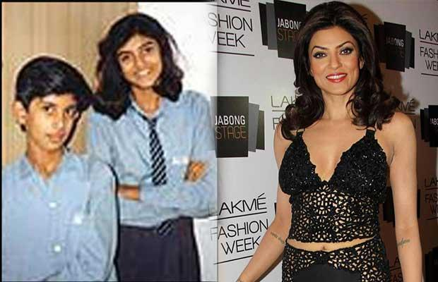 The Tomboy – Sushmita Sen may be known as compassionate women but she was a tomboy in her school days and she studied in a hindi medium school. When she turned 16 she learned English and mastered the language to perfection. Not just that she also competed her journalism in her studies.
