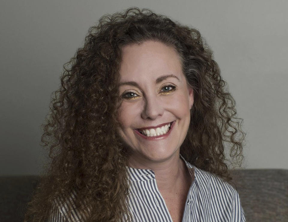 This undated photo of Julie Swetnick was released by her attorney Michael Avenatti via Twitter, Sept. 26, 2018. (Photo: Michael Avenatti via AP)