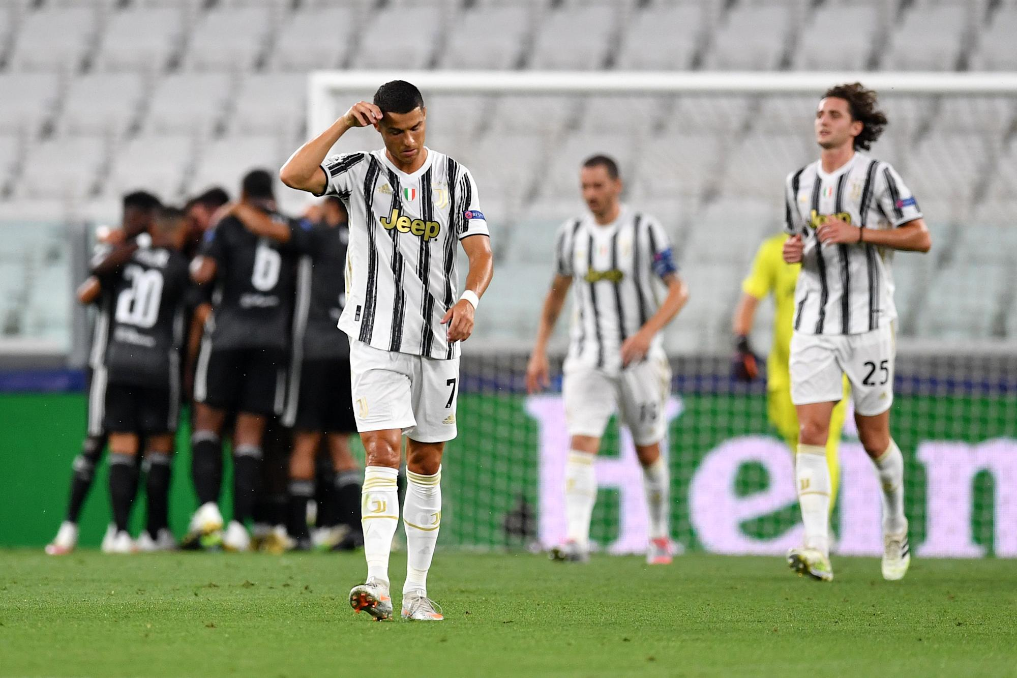 Champions League: Cristiano Ronaldo's Juventus eliminated; Man City ousts Real  Madrid (video)