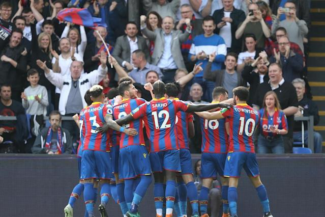 Crystal Palace 3 Brighton 2: Wilfried Zaha stars in M23 derby win to boost Premier League survival hopes