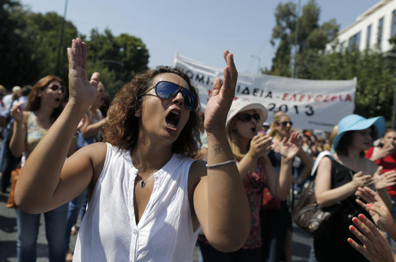Greek high school teachers to strike over job cuts