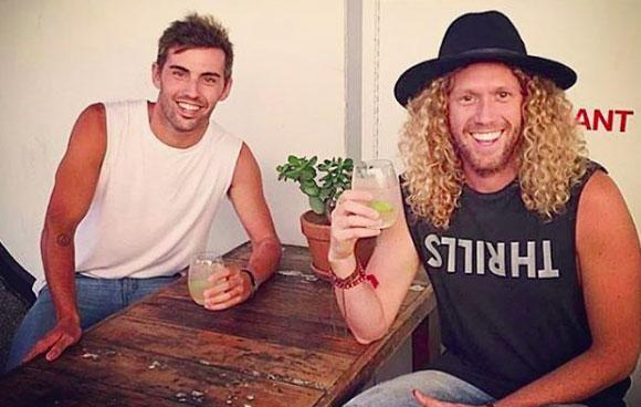 Tim Dormer has revealed he's in a relationship with Ash Toweel. Source: Instagram