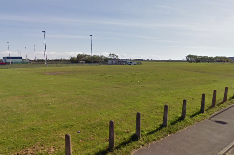 Common Edge Football Pitches in Blackpool (Google)