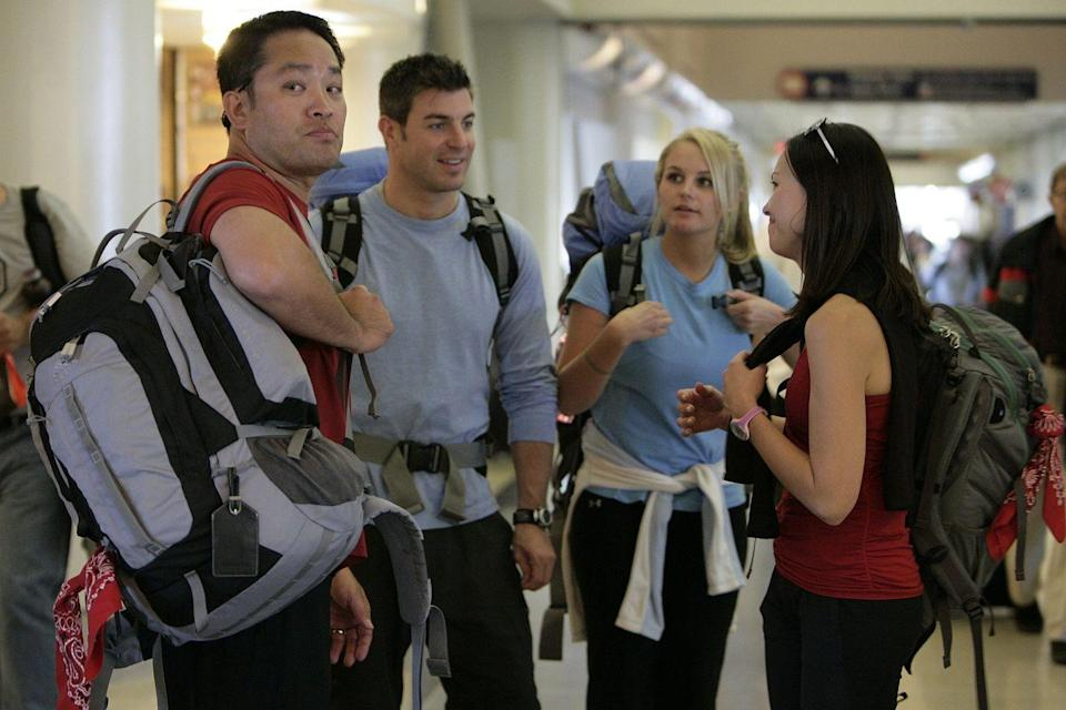 """<p>There are a lot of rules in <em>The Amazing Race</em> regarding purposefully derailing other competitors. One of these is that <a href=""""http://www.tarflies.com/article.php?_f=detail&id=29#rules1"""" rel=""""nofollow noopener"""" target=""""_blank"""" data-ylk=""""slk:each team is only allowed to purchase one set of airline tickets at a time"""" class=""""link rapid-noclick-resp"""">each team is only allowed to purchase one set of airline tickets at a time</a>, to prevent people from overbooking and keeping other teams off of flights.</p>"""