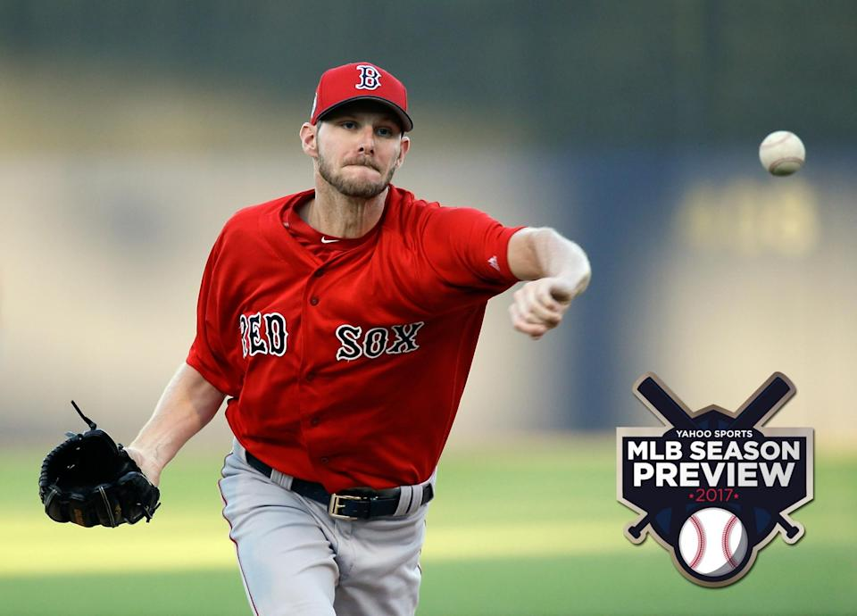 Chris Sale is in Boston now and the Red Sox's rotation could be fantastic. (AP)