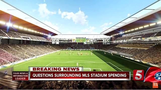 A money mistake by Nashville's Chief Operating Officer placed the city's planned MLS Stadium in the spotlight during a city council meeting.