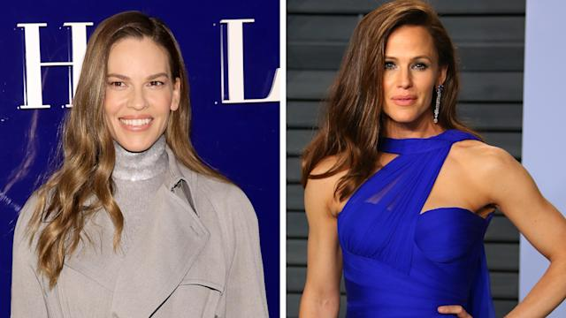 Hilary Swank and Jennifer Garner often get mistaken for each other. (PHOTO: Getty Images)