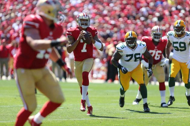 Colin Kaepernick dominates the Packers once again with 412 passing yards in 49ers win