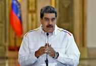 'We're ready for whatever, whenever,' President Nicolas Maduro told state-run media (AFP Photo/Marcelo GARCIA)