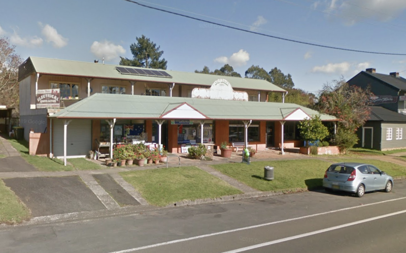 The winning ticket was purchased from Robertson Newsagency (pictured). Source: Google Maps