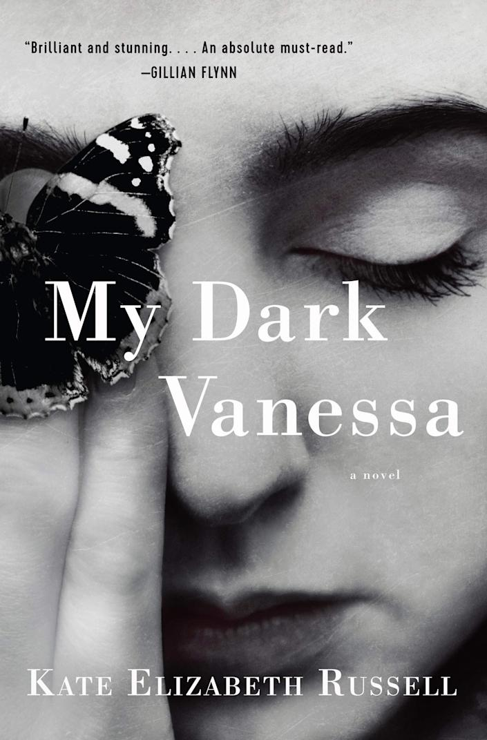 "At the age of 15, Vanessa Wye begins a love affair with her 42-year-old English teacher. Almost two decades later, when he&rsquo;s accused of sexual abuse by a former student, Vanessa begins to re-think and reflect on their past relationship. In a book fitting the #MeToo movement, &ldquo;My Dark Vanessa&rdquo; alternates between the title character&rsquo;s past and present, bringing up questions about agency, consent, victimhood and complicity. Read more about it on <a href=""https://www.goodreads.com/book/show/44890081-my-dark-vanessa"" rel=""nofollow noopener"" target=""_blank"" data-ylk=""slk:Goodreads"" class=""link rapid-noclick-resp"">Goodreads</a>, and <a href=""https://amzn.to/2TtNomF"" rel=""nofollow noopener"" target=""_blank"" data-ylk=""slk:grab a copy on Amazon"" class=""link rapid-noclick-resp"">grab a copy on Amazon</a>.<br><br><i>Expected release date: March 10</i>"