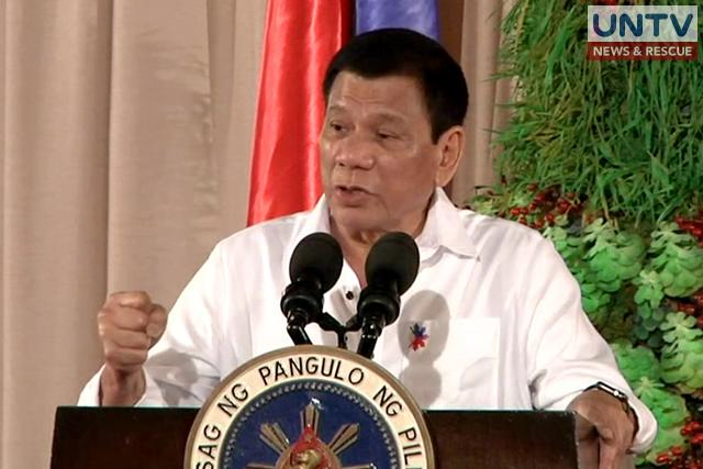 FILE PHOTO: President Rodrigo Duterte