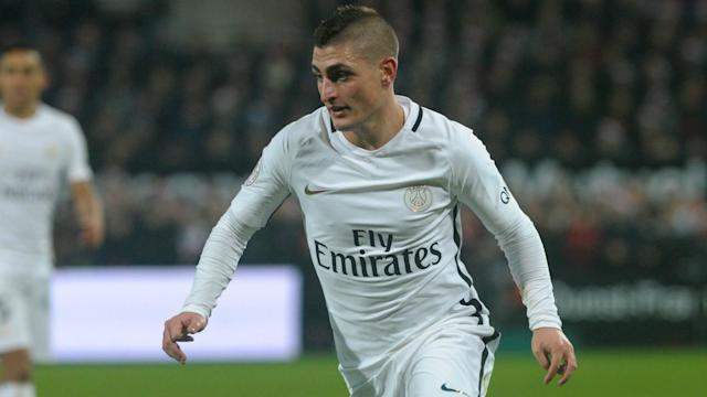 Star midfielder Marco Verratti will miss Paris Saint-Germain's next three domestic outings after his red card against Toulouse.
