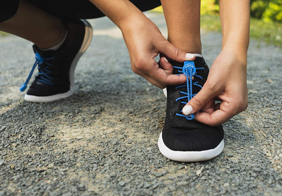 Lock Laces are no-tie elastic shoe laces and are best seller on Amazon with over 12,000 near-perfect reviews. (Photo: Amazon)