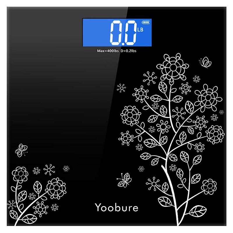 Precision Digital Body Bathroom Scale with Step-On Technology. (Photo: Amazon)