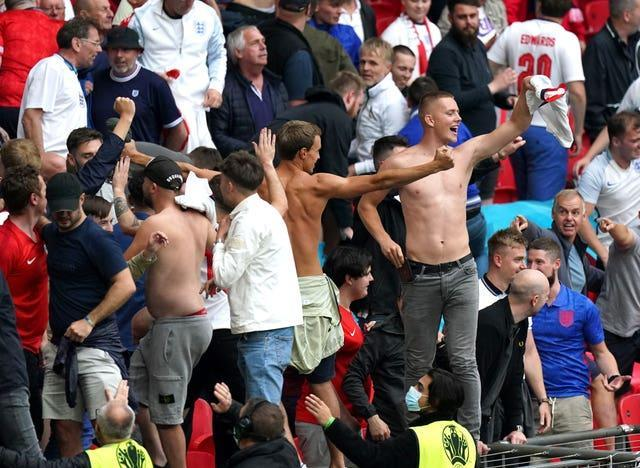 More than 40,000 people attended England's Euro 2020 last-16 match against Germany on Tuesday